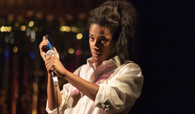 Fanta Barrie in Songlines by Tallulah Brown. Image by Helen Maybanks