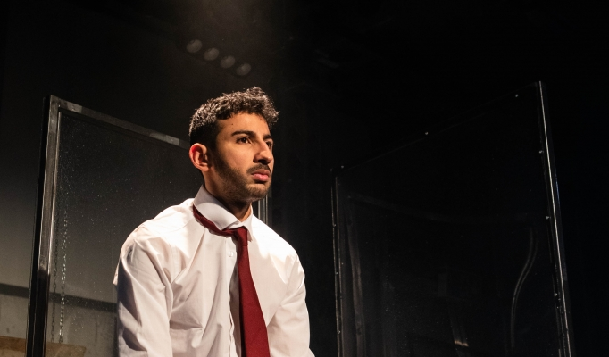 Manish Gandhi in No Sweat (Photo by Ali Wright)